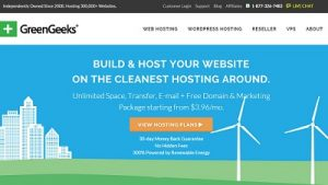 GreenGeeks Best for Small Sites