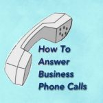 Answering Telephone Calls Office Receptionist